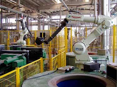 роботы для литья